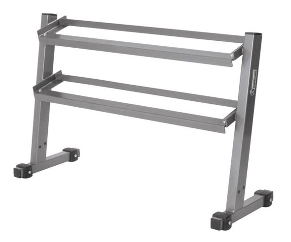 Keys Fitness 4 Two-Tier Dumbbell Rack