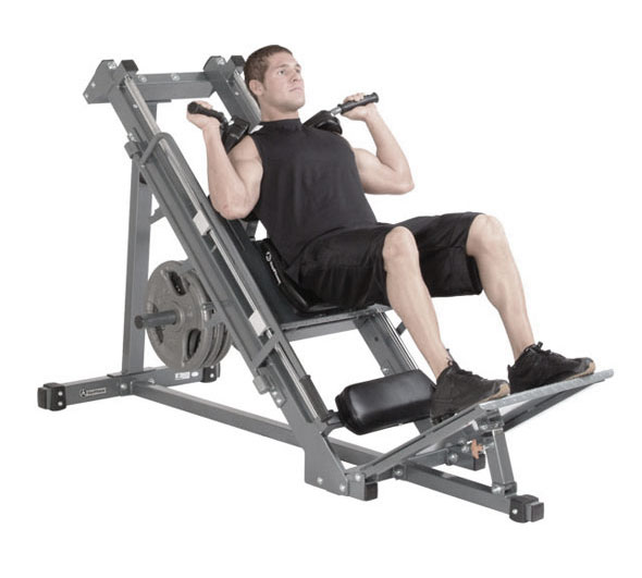 leg press hack squat machine