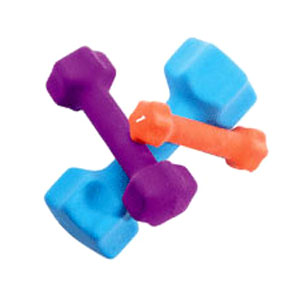 Keys Fitness Neoprene Dumbbells