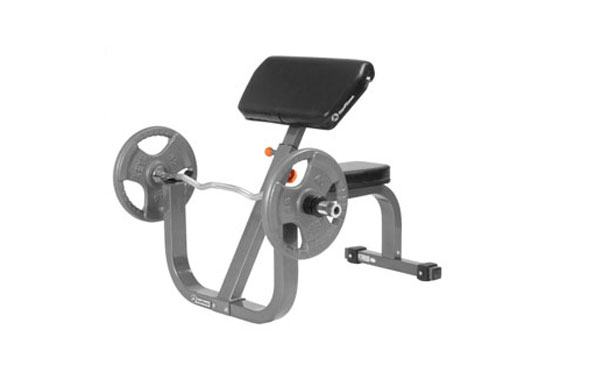 Keys Fitness Preacher Curl Bench